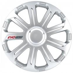 Silver EVO Race wheel trims