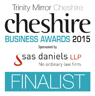 Cheshire Business Awards Finalist