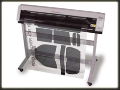 Window tint cutting machine