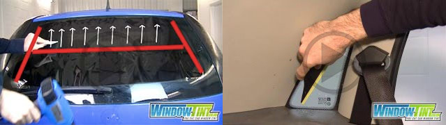 Window tinting videos