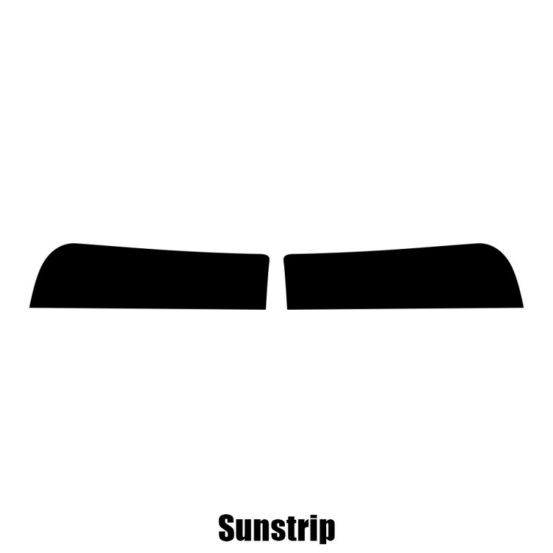 Window Tint Pre Cut Sunstrip BMW 5 Series 4-door Saloon F10 2010-2017