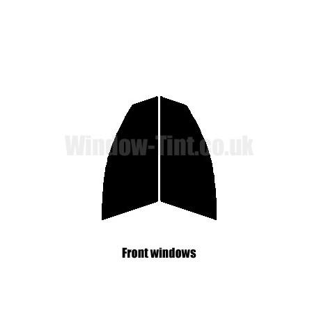 FRONT PRE CUT WINDOW TINT KIT B8 Audi A4 Estate 2008 to present