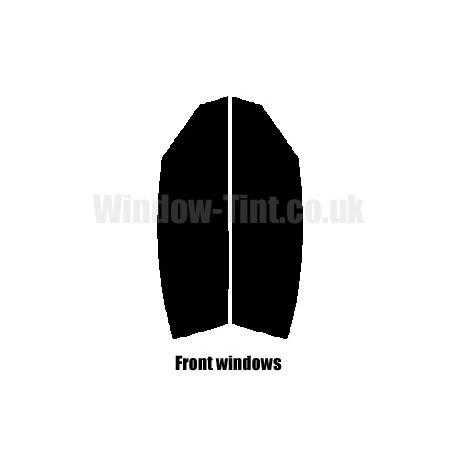 CHRYSLER CROSSFIRE 2-DOOR 2003-2007 FULL PRE CUT WINDOW TINT KIT