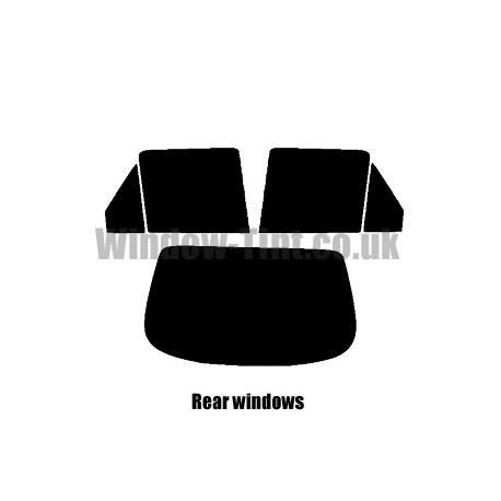 FORD FIESTA 3-DOOR 1989-1995 FULL PRE CUT WINDOW TINT KIT