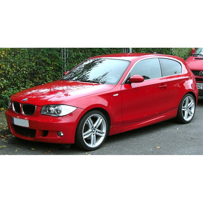 bmw 1 series e81 3 door hatchback 2004 to 2011 pre cut window tint kit. Black Bedroom Furniture Sets. Home Design Ideas