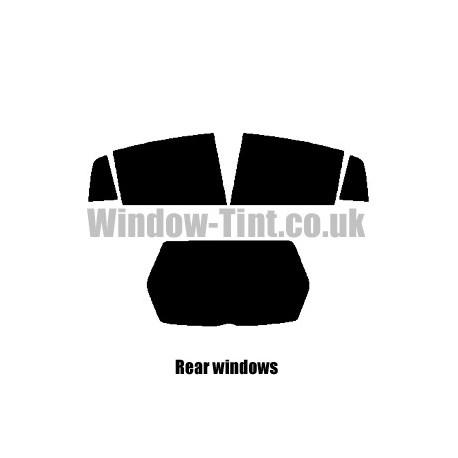 RENAULT LAGUNA 5-DOOR 2001-2007 FULL PRE CUT WINDOW TINT KIT