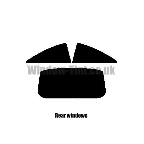VAUXHALL CORSA 3-DOOR 2006-PRESENT D FULL PRE CUT WINDOW TINT KIT