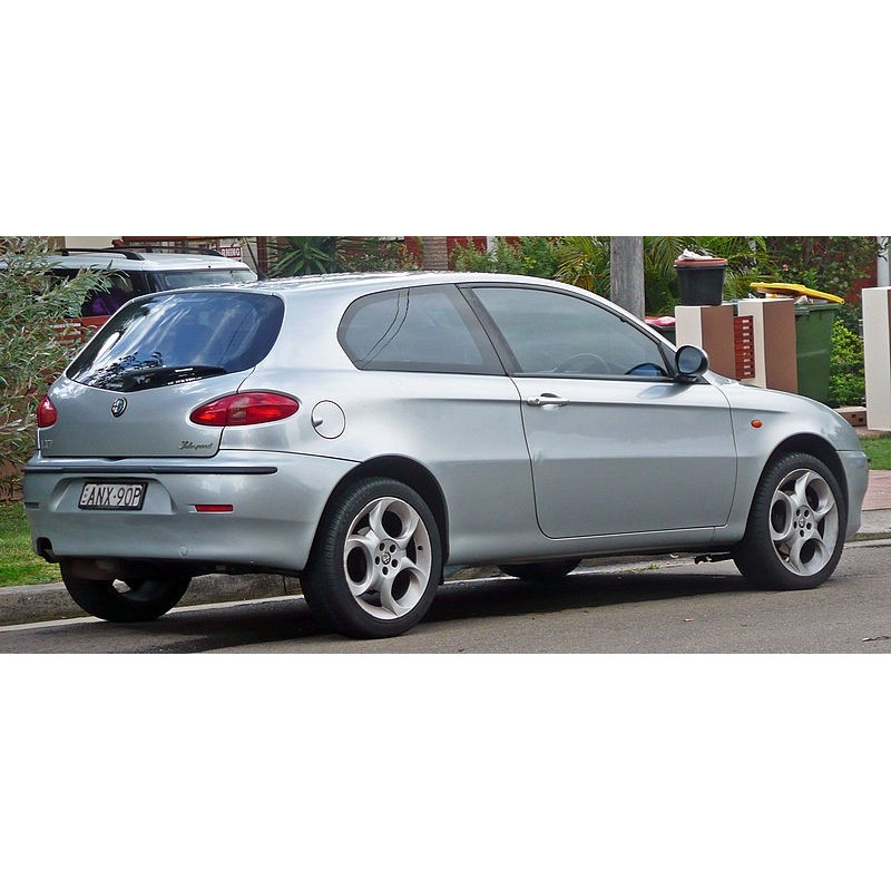 alfa romeo 147 3 door hatchback 2001 to 2010 pre cut window tint kit. Black Bedroom Furniture Sets. Home Design Ideas