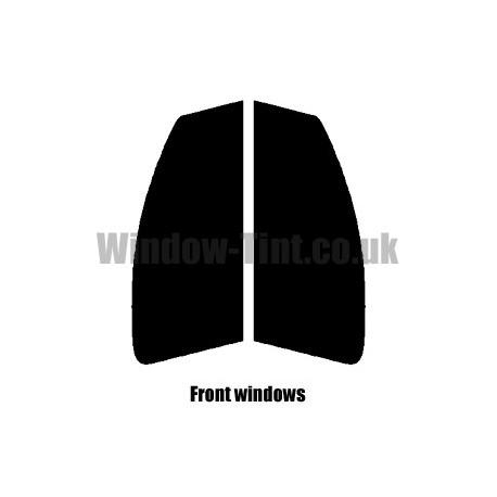 PEUGEOT 107 5-DOOR 2005 FULL PRE CUT WINDOW TINT KIT