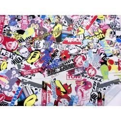 Stickerbomb Vinyl Wrap 2