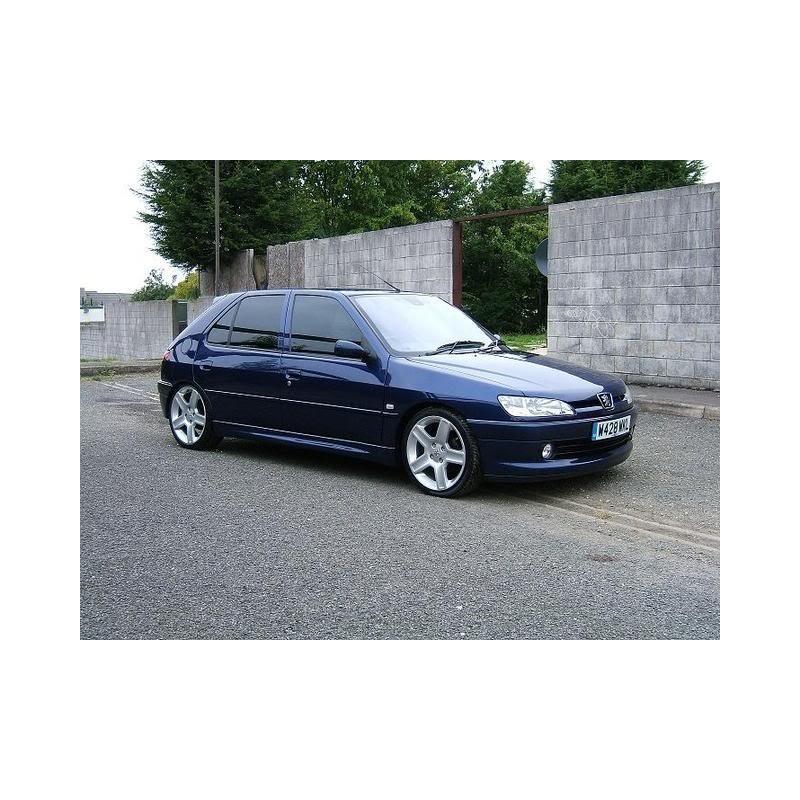 peugeot 306 5 door hatchback 1993 to 2002 pre cut window tint kit. Black Bedroom Furniture Sets. Home Design Ideas