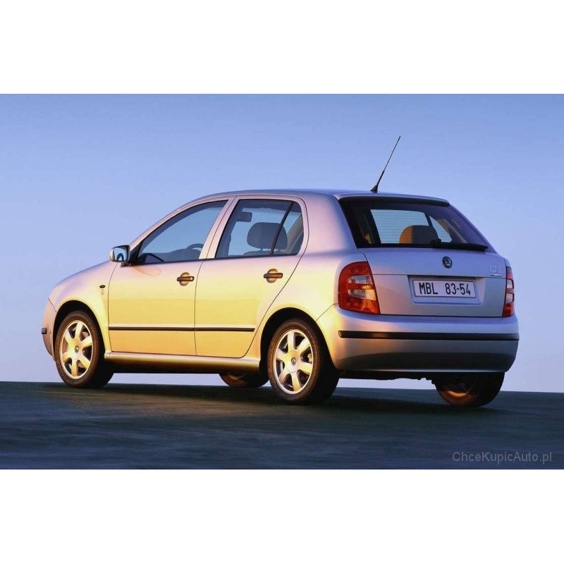 skoda fabia 5 door 1999 to 2005 pre cut window tint kit. Black Bedroom Furniture Sets. Home Design Ideas