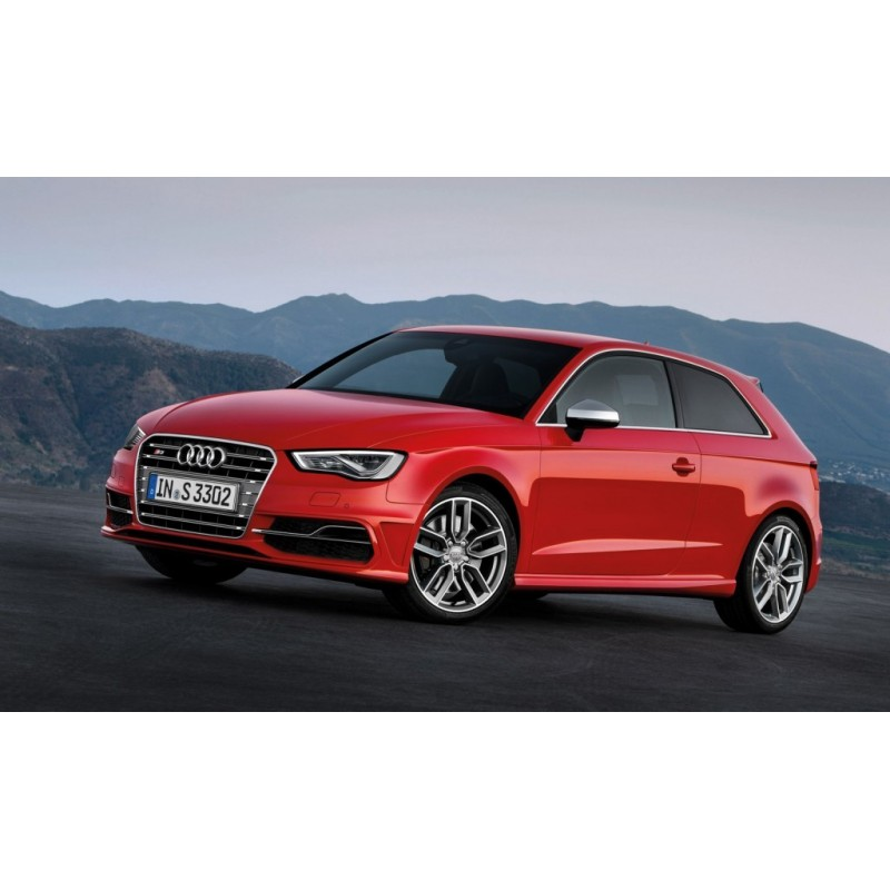 audi a3 3 door hatchback 2012 and newer pre cut window tint kit. Black Bedroom Furniture Sets. Home Design Ideas
