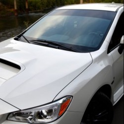 Car Vinyl Sun Strip - Gloss Black
