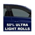 50% Ultra Light Window Tint Rolls