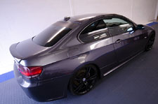 Window Tint on BMW 3 Series Coupe