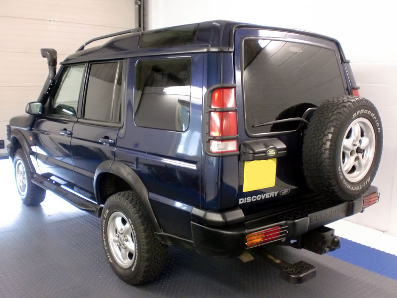 Window Tint on Land Rover Discovery