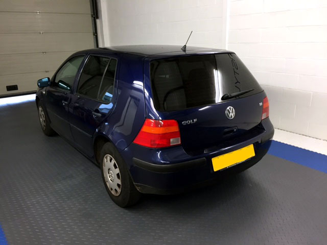 Window Tint on VW Golf MK4