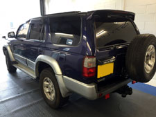 Window Tint on Toyota Hilux